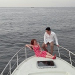 Prewedding on Boat